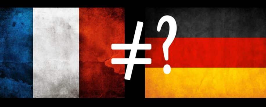 différences français allemands