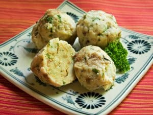 bread-dumplings-plate