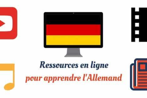 Les ressources apprendre allemand